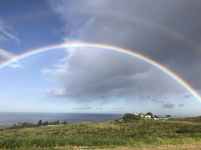 Rainbows at Kohala Ranch