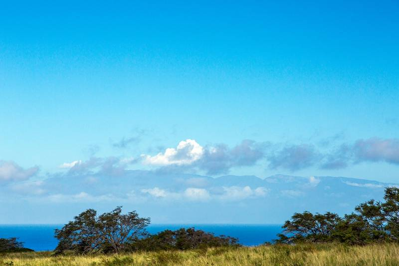 Puakea vacant lot for sale with Maui views
