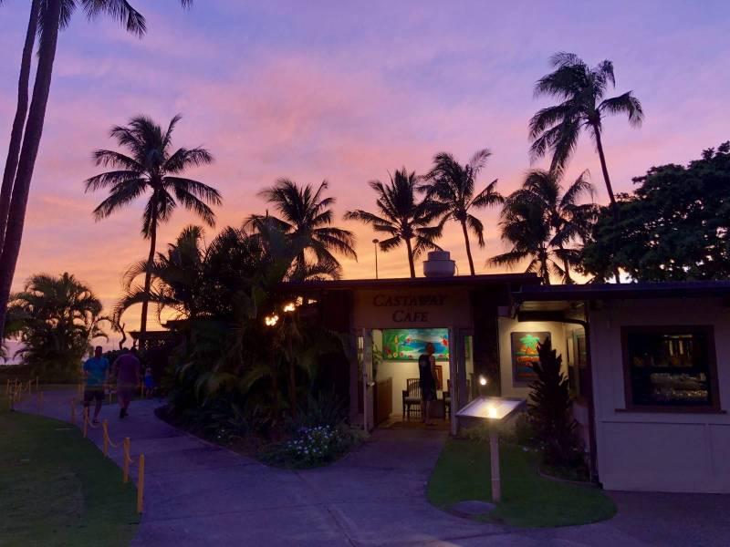 castaway cafe at maui kaanapali villas