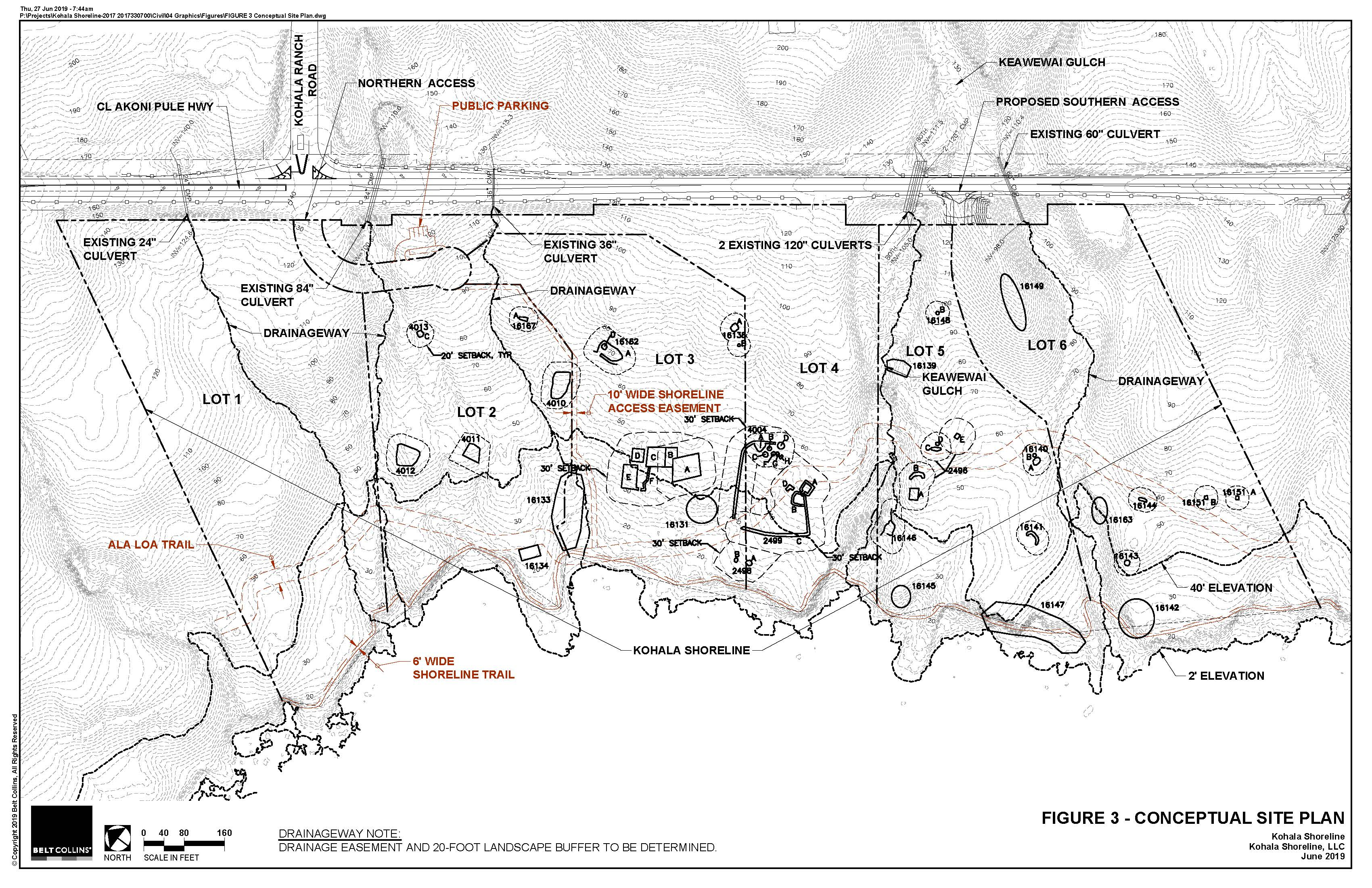 Map from 2019-08-08-HA-FEA-Kohala-Shoreline-6-lot-Subdivision