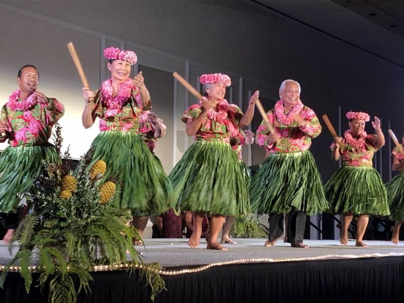 Na Kupuna o Kohala hula festival