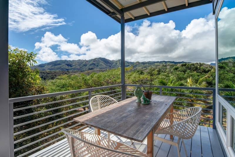 COVERED LANAI WITH VIEWS