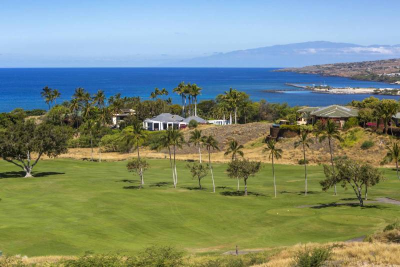 View from Mauna Kea Fairways North lot