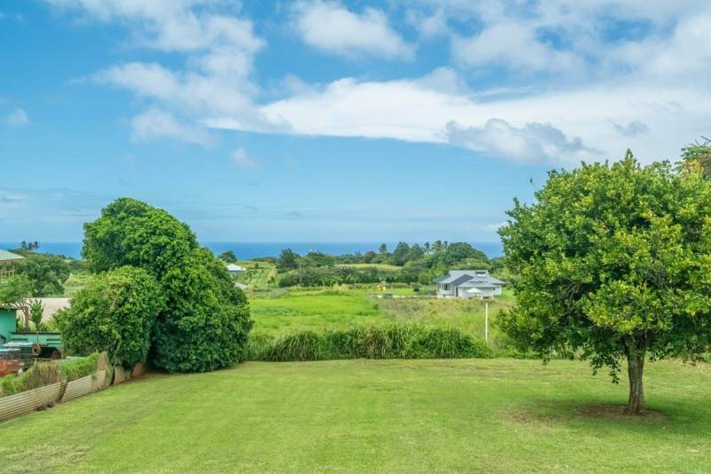 Ocean view from entry level home in Kapaau
