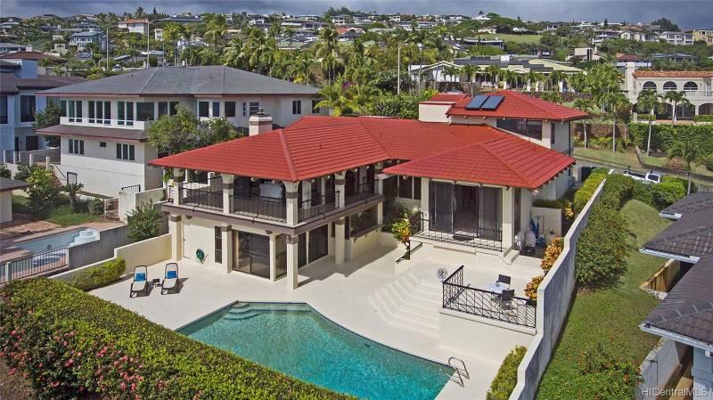 Luxury home Hawaii Loa Ridge