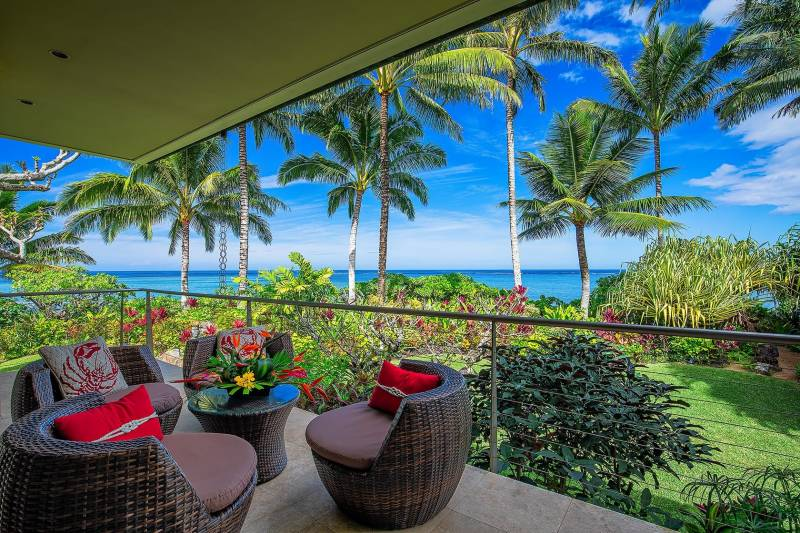 3704 Anini Road - Oceanview Lanai