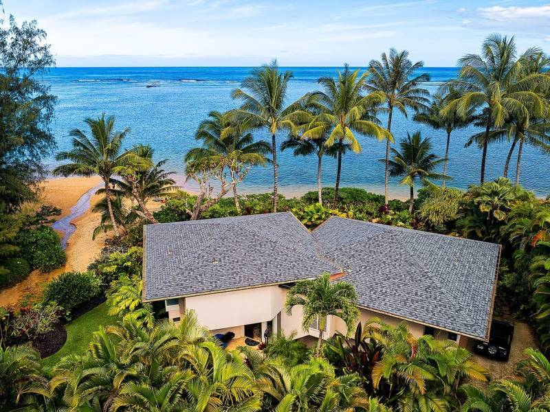 3704 Anini Road - Aerial View