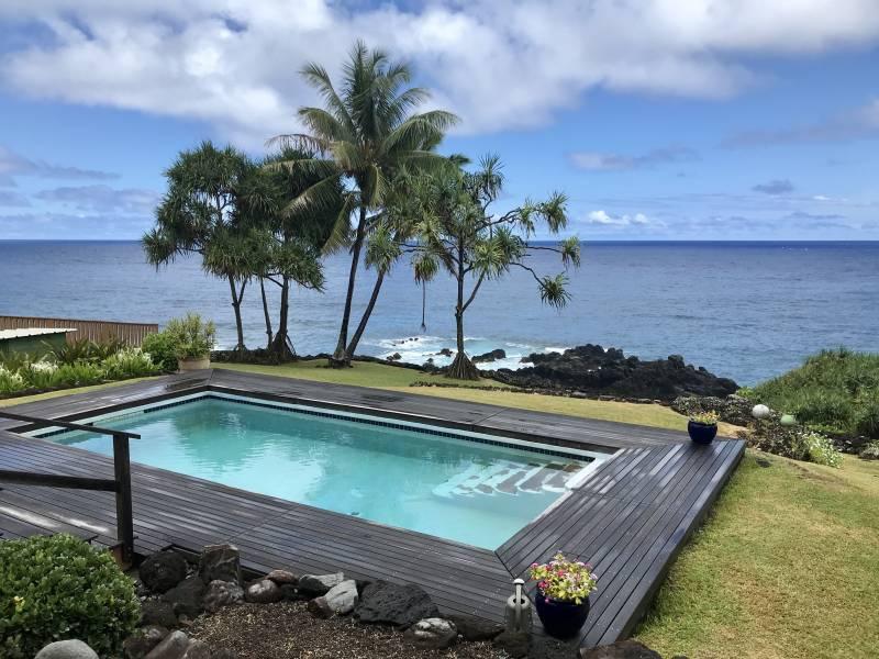 Hana Oceanfront Home