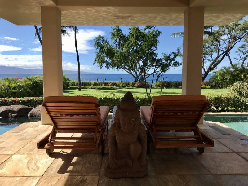 Kaanapali Oceanfront Home