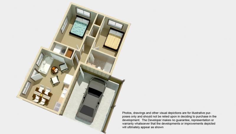 Cottage 2 Floor Plan