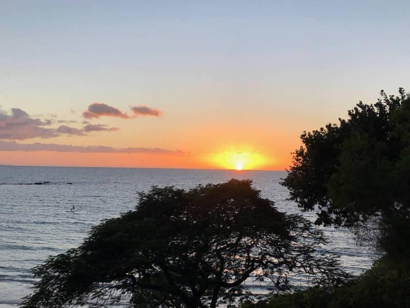 Sunset along the Kohala Coast