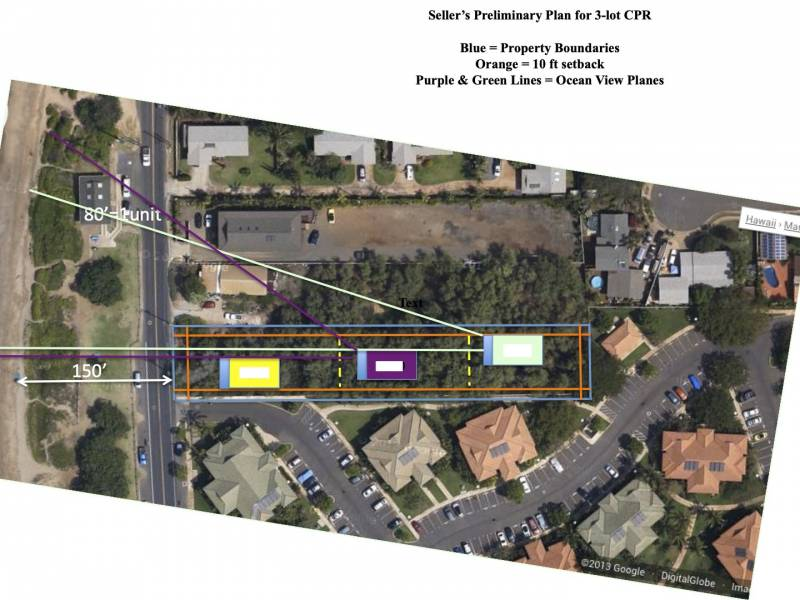 371 S Kihei Road Preliminary CPR Plan