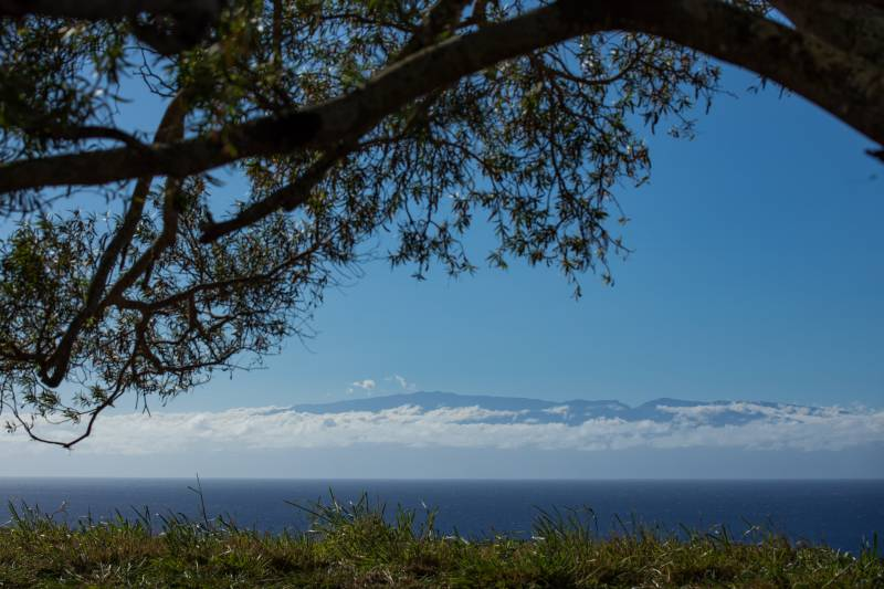 Ocean and maui views from 40-acre Hawi lot