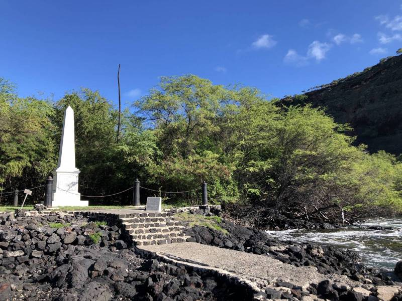captain cook monument