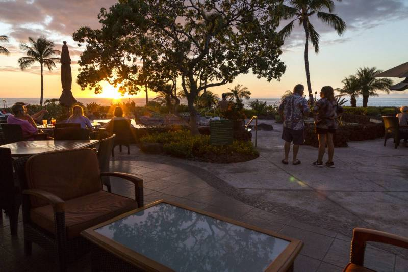 Sunset at Halii Kai Ocean Club