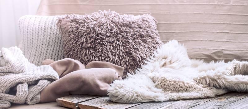 comfortable lush pillows