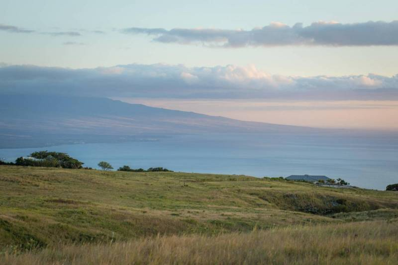 Kohala Ranch ocean and sunsetviews