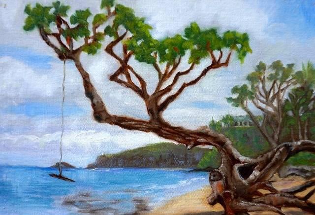 Anini Beach Painting