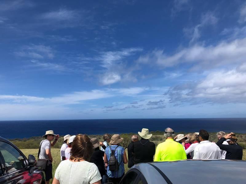 Learning about Kohala Coast protection efforts