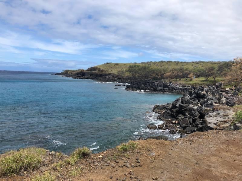 Mahukona North Kohala shoreline