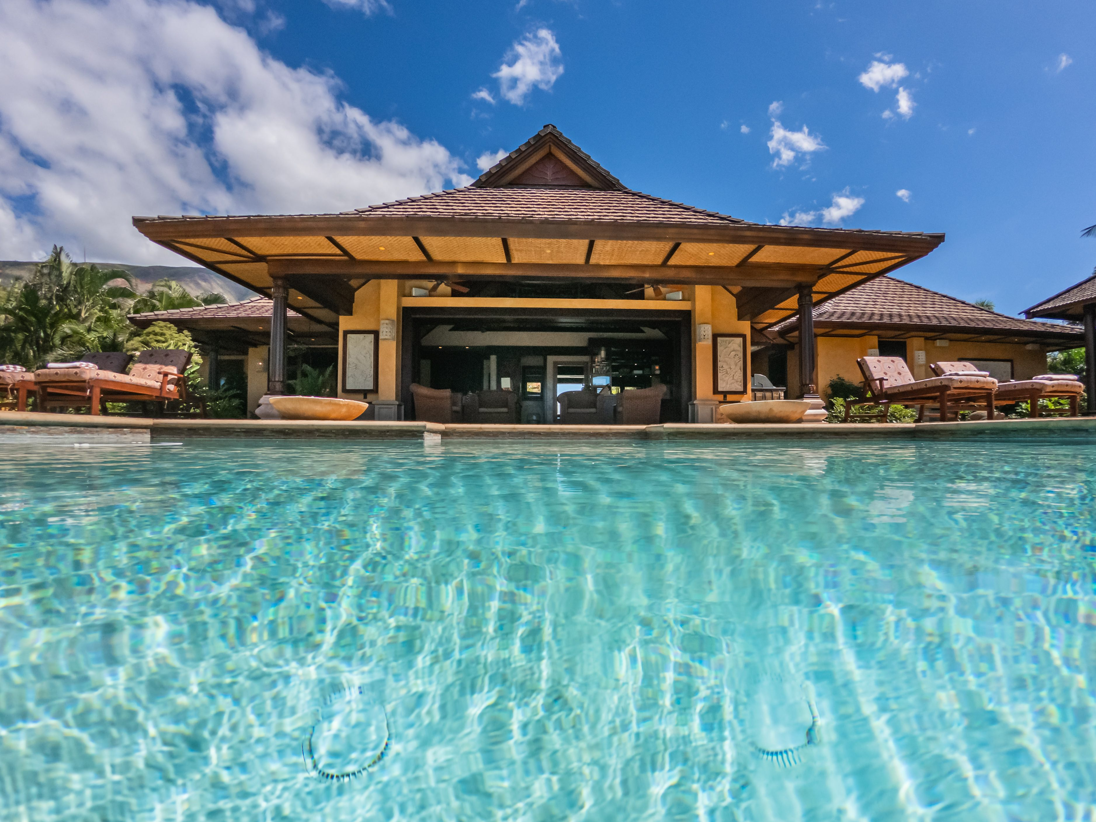 Balinese-style estate in Launiupoko maui