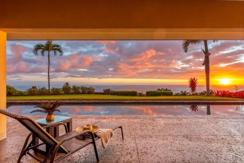 ocean view pool 76-6336 Kilohana Street, Kailua Kona