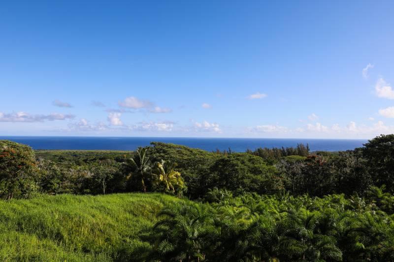 views from130 Kalo Road hana maui
