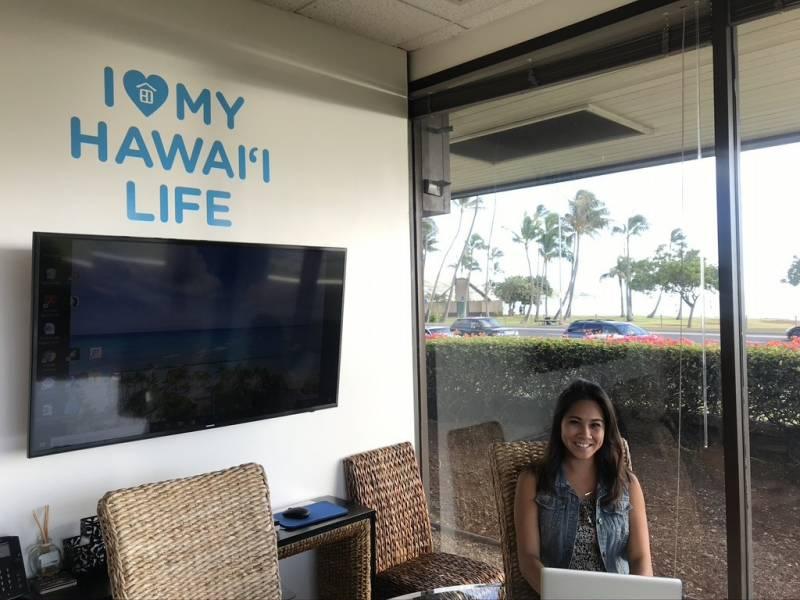 katy enos at oahu hawaii life office
