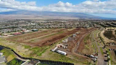 aerial view of Anuhea is Kehalani new development on maui