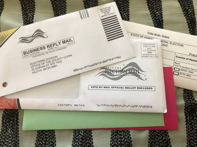 Hawaii County Voter Packet