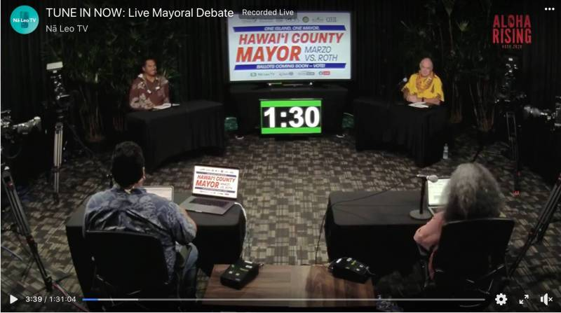 Hawaii County Mayor Debate