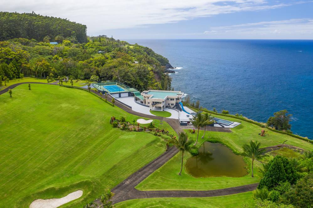 big island clifftop estate