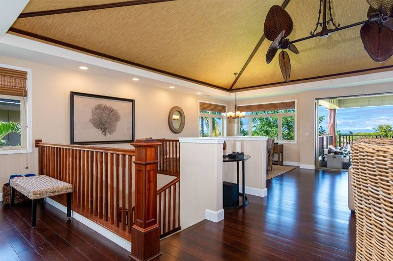 Two story floor plan Mahina