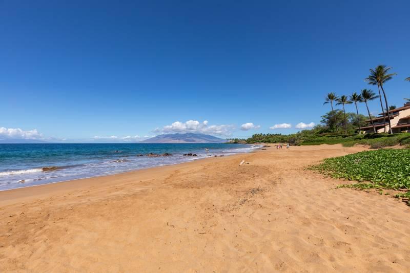 beach at Makena Surf G201 maui