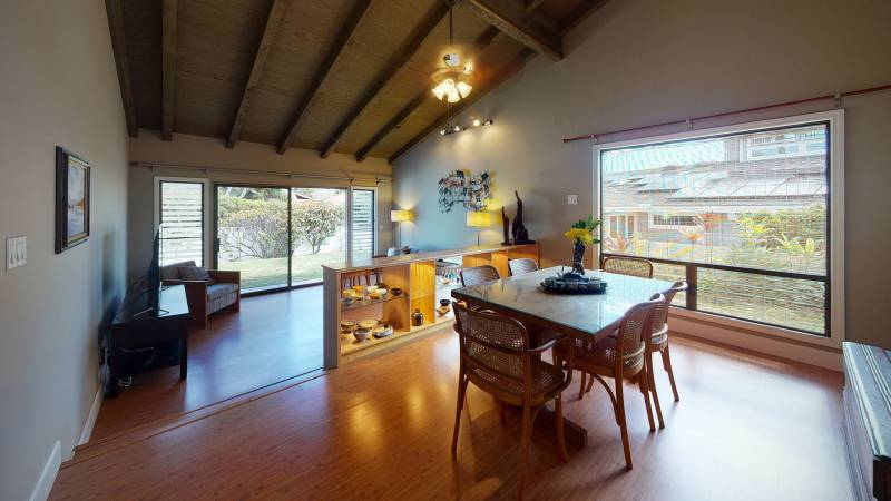 living and dining room kalama valley oahu