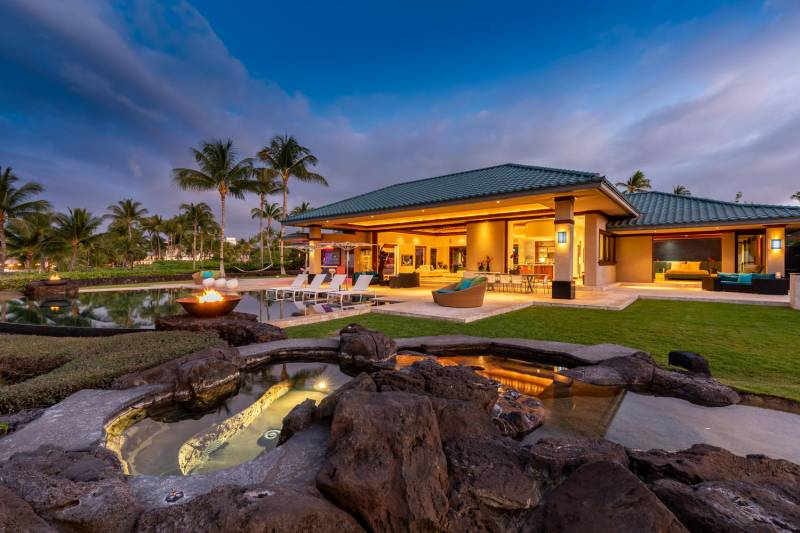 waterfalling estate big island hawaii