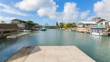 private boat dock hawaii kai oahu
