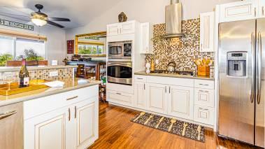 kitchen interior big island hawaii