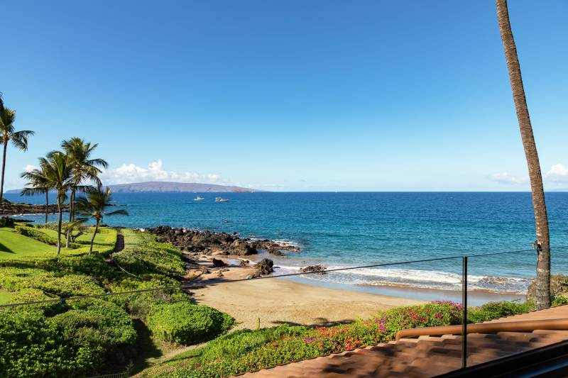 ocean view from makena surf