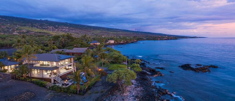 oceanfront estate big island hawaii