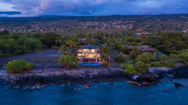 waterfalling estate oceanfront big island hawaii