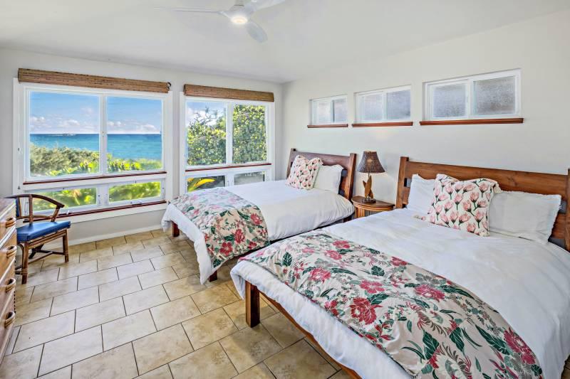 oahu bedroom with ocean views