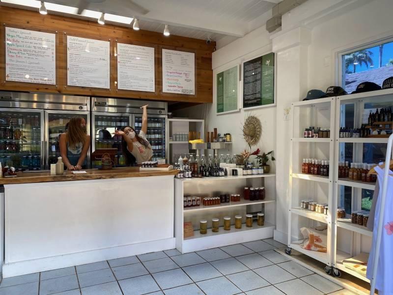 cold pressed juice shop lihue kauai juice co
