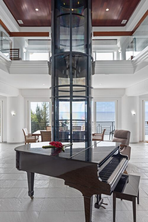 piano in waterfalling estate big island