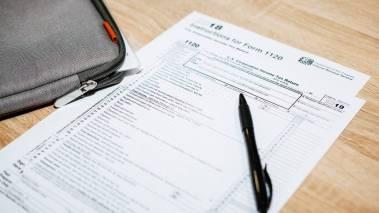 paper tax form