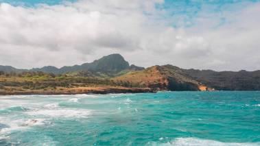 kauai ocean and mountains