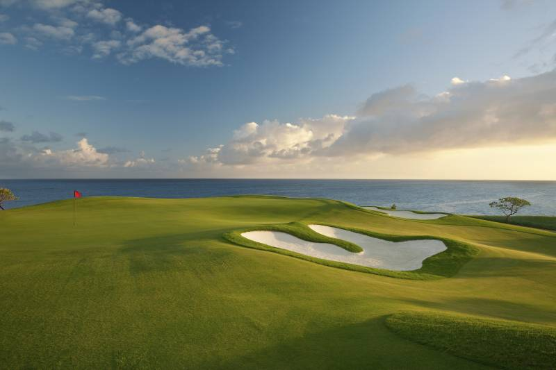 golf course at kukuiula