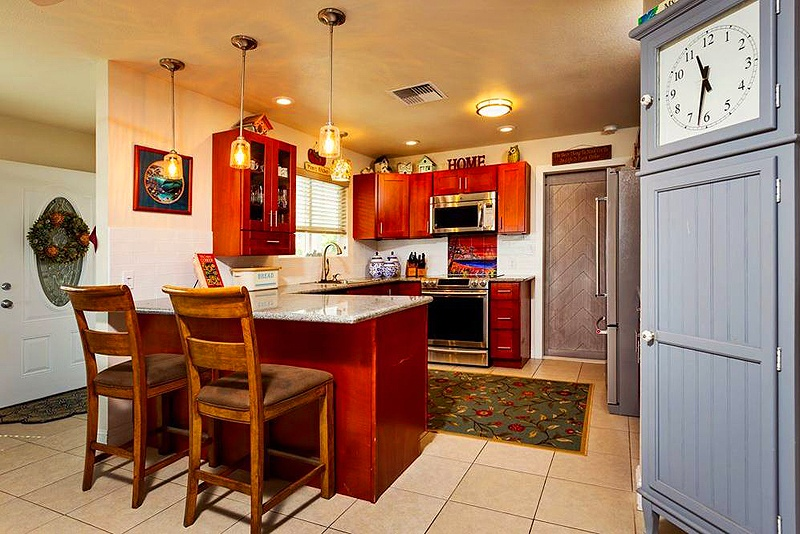 kitchen in maui home for sale