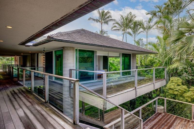 breezeway in haena kauai home for sale