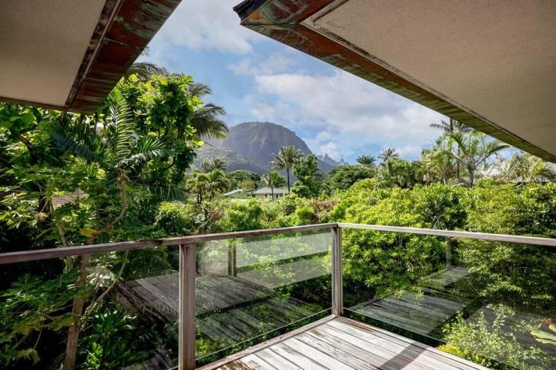 kauai north shore mountain views